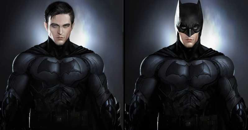 Robert Pattison is The Batman