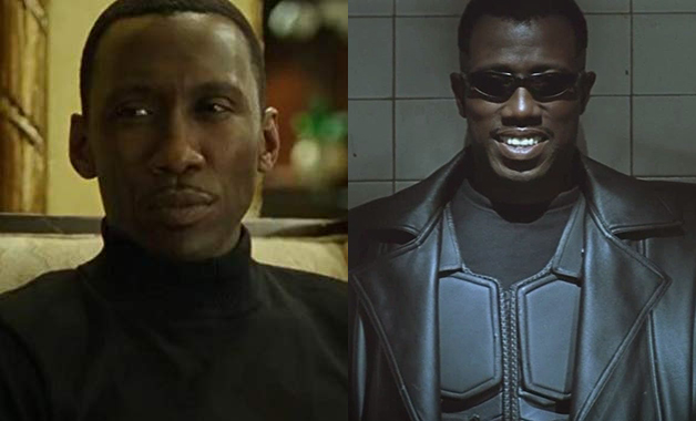 Mahershala Ali replacing Wesley Snipes as Blade