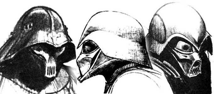 Darth Vader Original Helmet Design