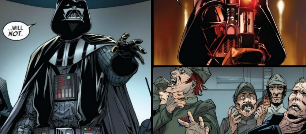 Darth Vader Kills 5 Imperial Officers Just To Make A Point