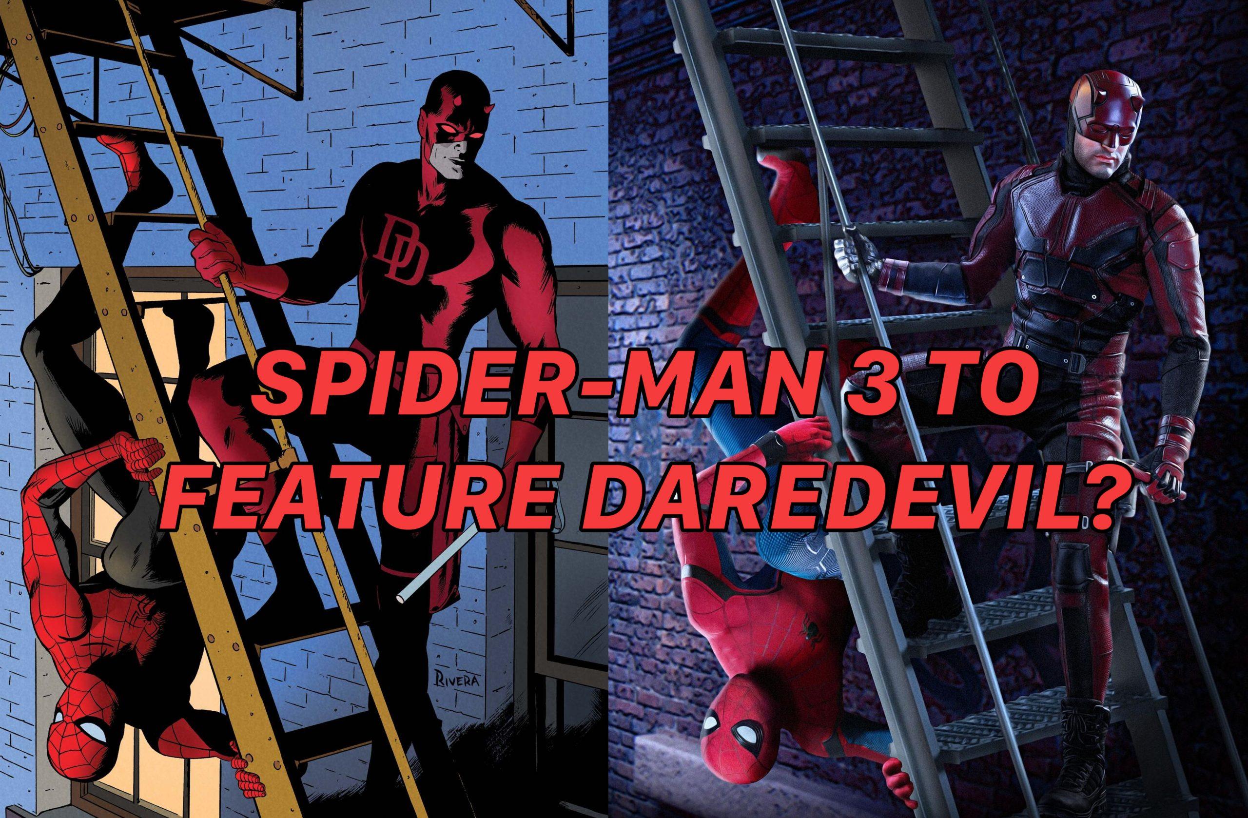Spider man Daredevil Spider-Man 3