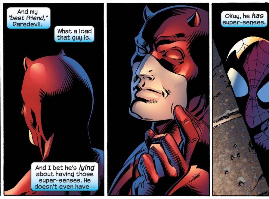 Daredevil & Spider-Man Spideman 3