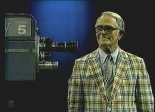 Thomas T. Goldsmith Jr. in 1984 - creator of the Cathode-Ray Tube Amusement Device