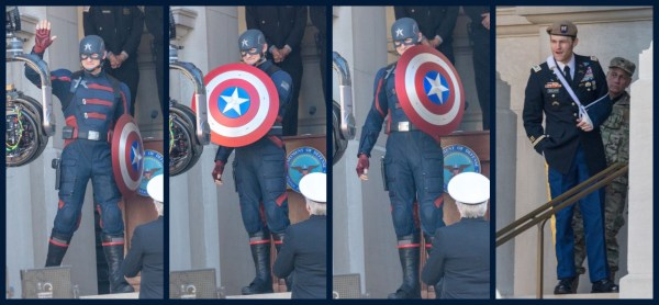 US Agent Falcon and Winter Soldier Set Photos