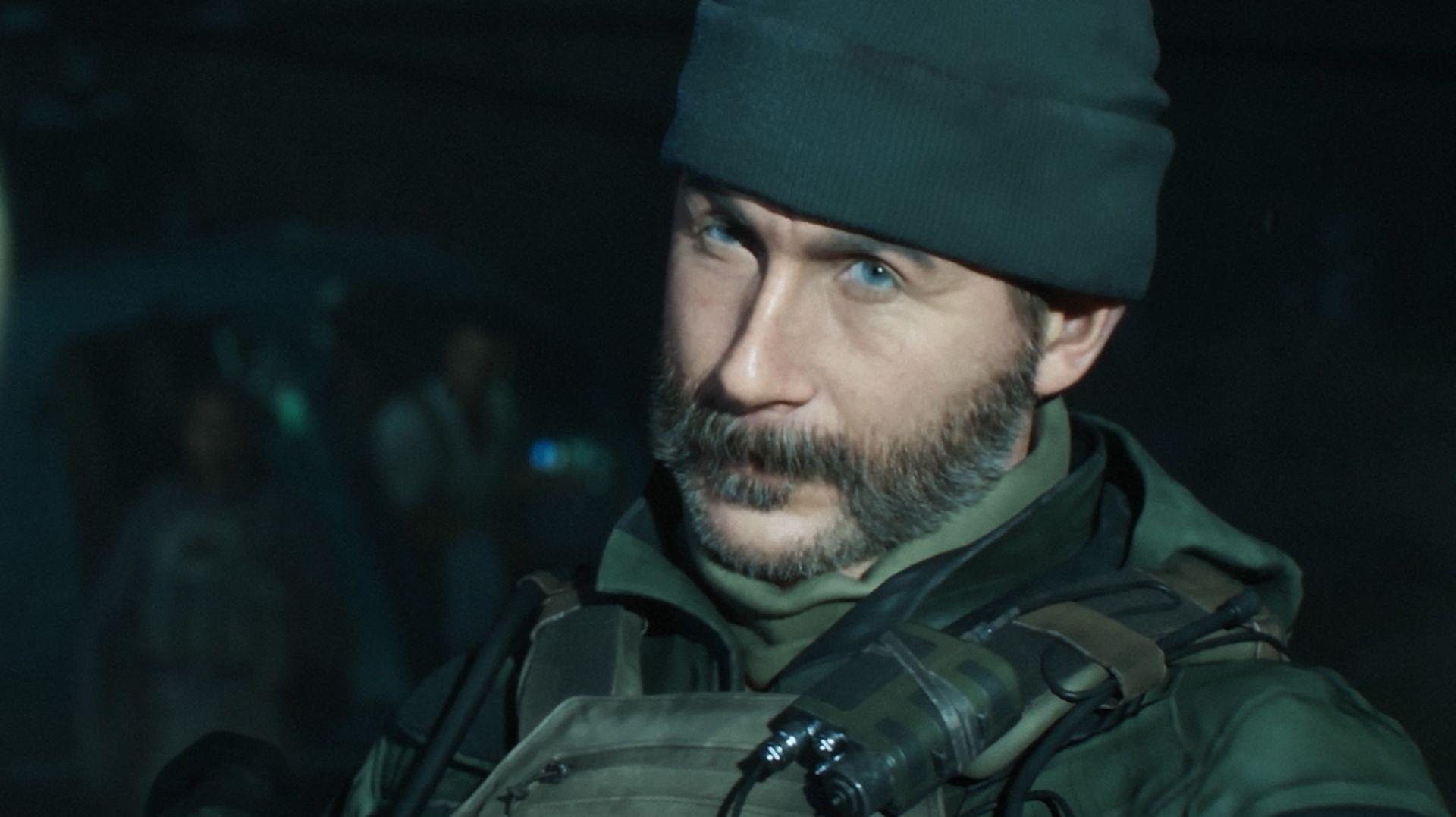 Call of Duty Modern Warfare Captain Price