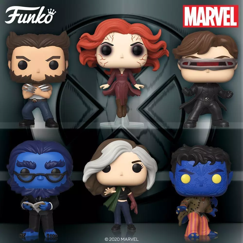 X-men 2 Funk Pop Vinyls