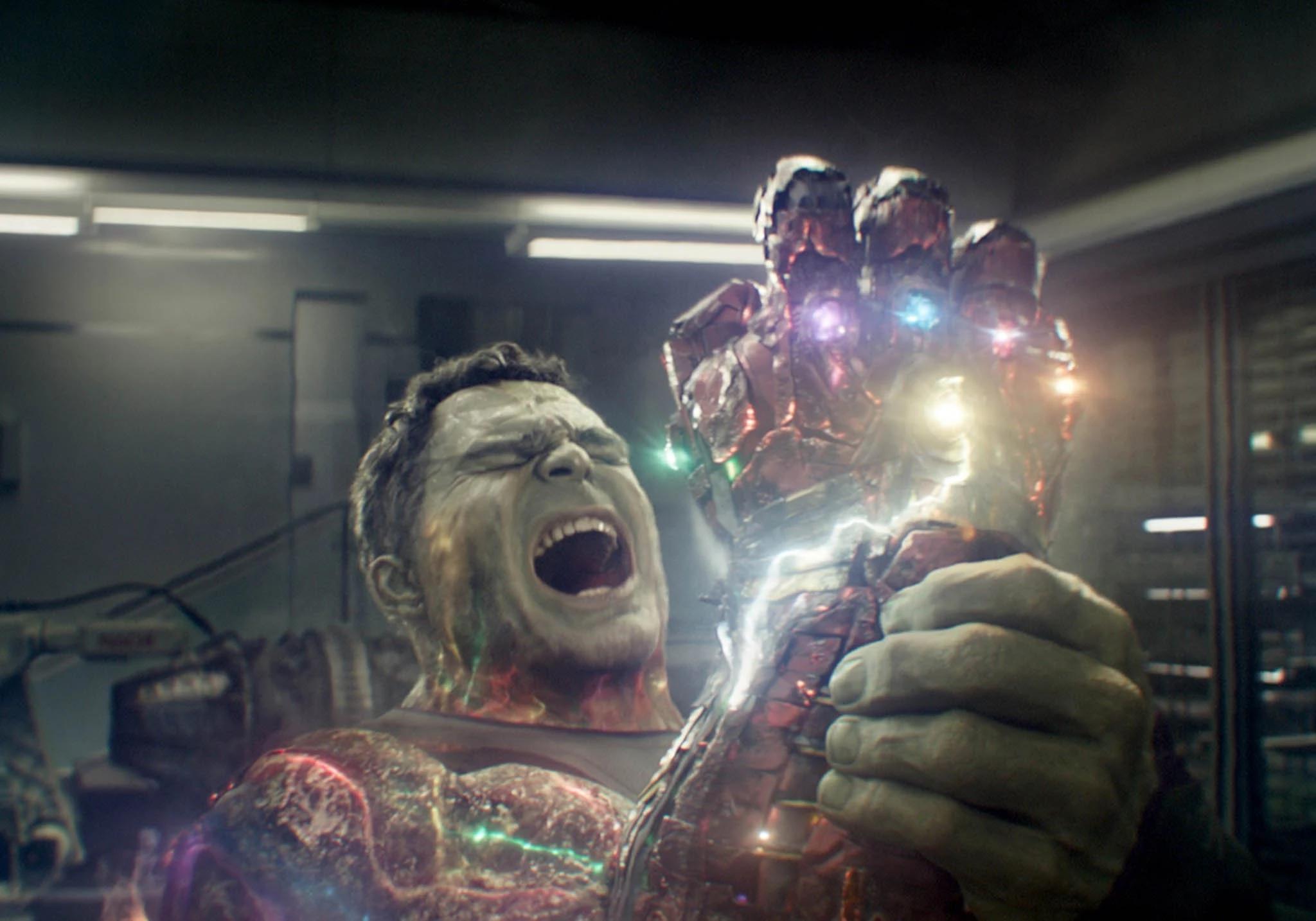 Hulk Endgame Screenshot Marvel Cincematic Universe
