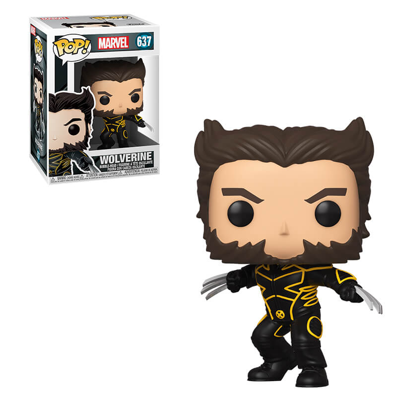 Wolverine X-men Funk Pop Vinyl