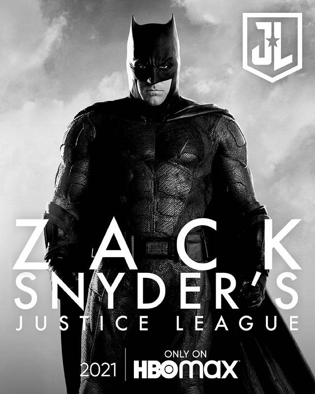 Batman Justice League Snyder Cut
