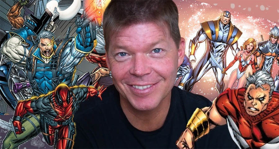 Rob Liefeld Deadpool Creator