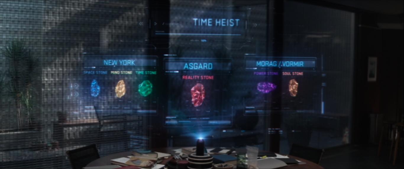 Time Heist Avengers Endgame