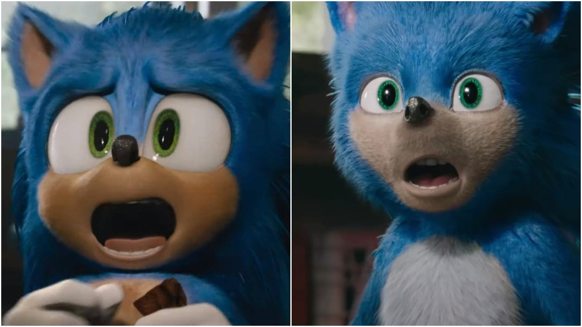 Sonic the hedgehog movie CGI change