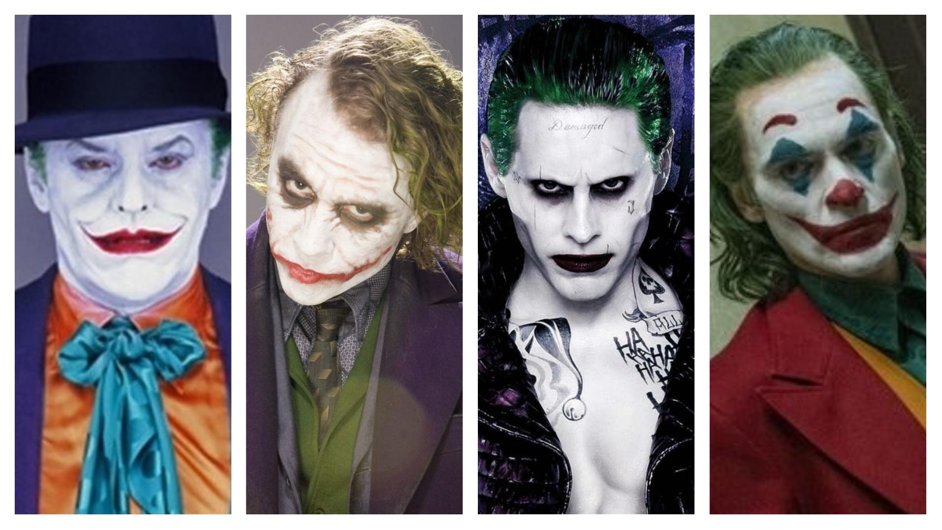 Live action Joker actors