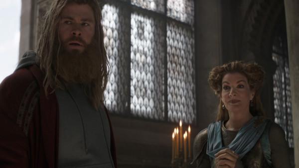 Thor Frigga Time Heist Avengers Endgame
