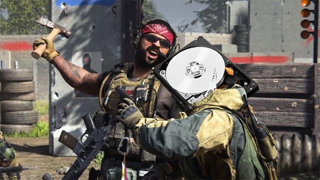 Modern Warfare file size too big