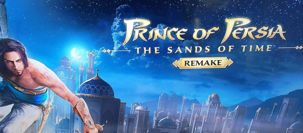 Prince of Persia Sands of Time Remake March 2021 video game releases