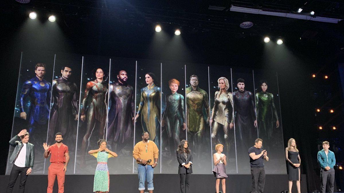 Eternals movie cast Marvel MCU