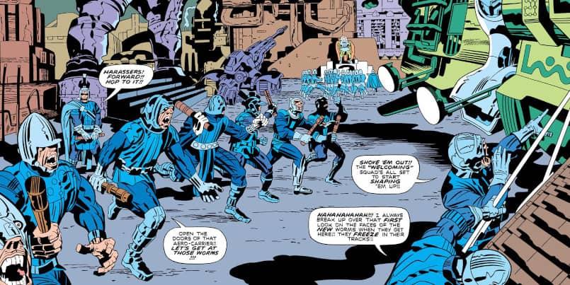 DC Apokolips Characters